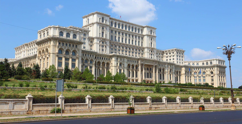 Parliament People Palace Bucharest Romania