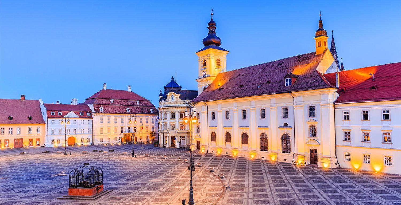 Central Square in Sibiu