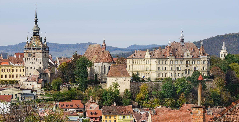 Sighisoara Architecture in Transylvania