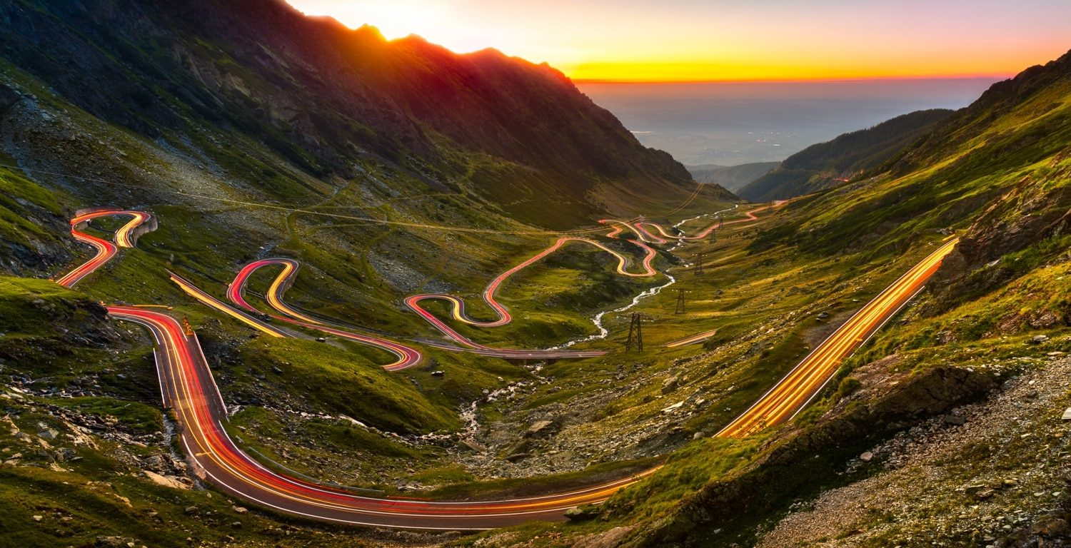 Transfagarasan high altitude road