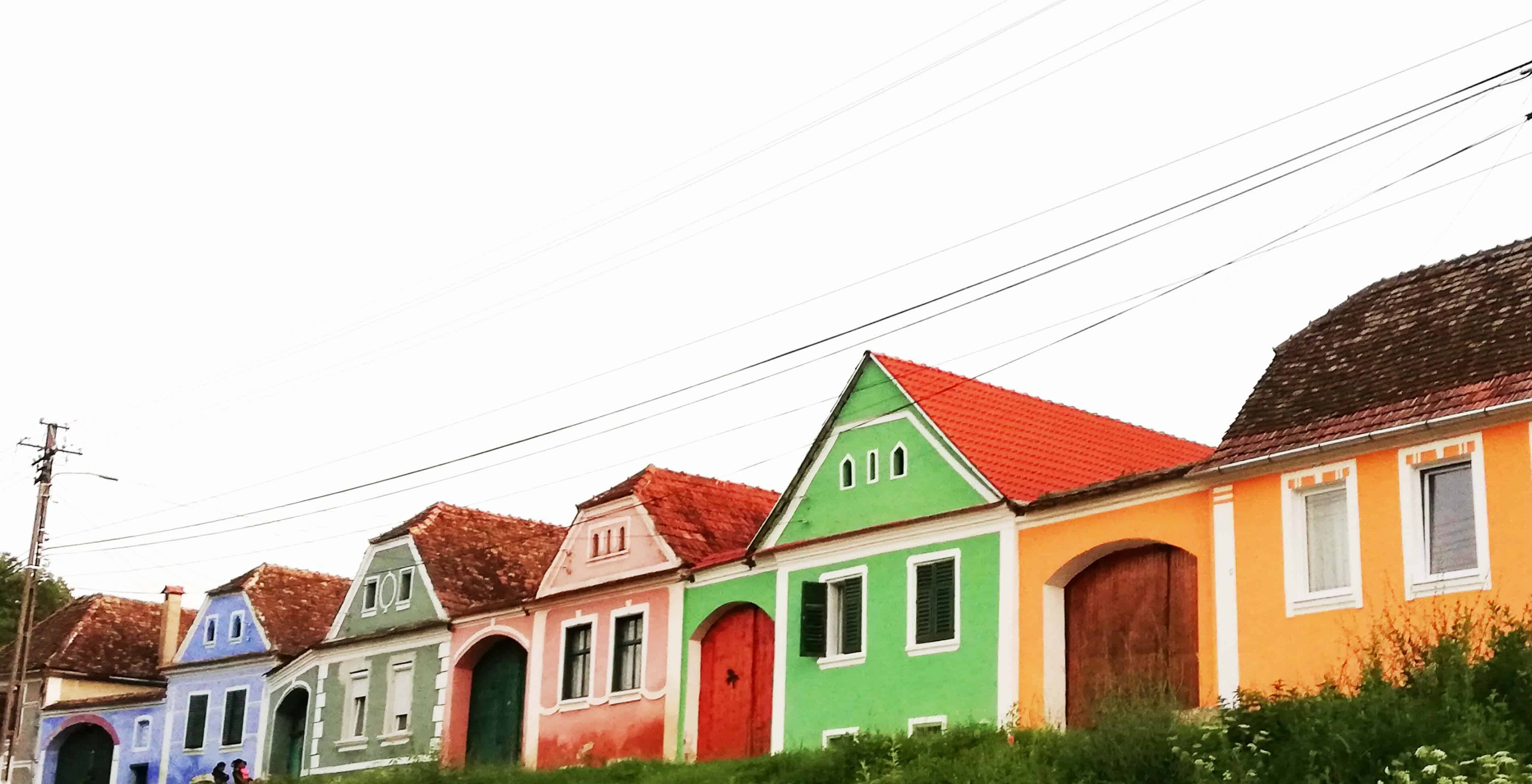 Colorful Houses in Alma Vii