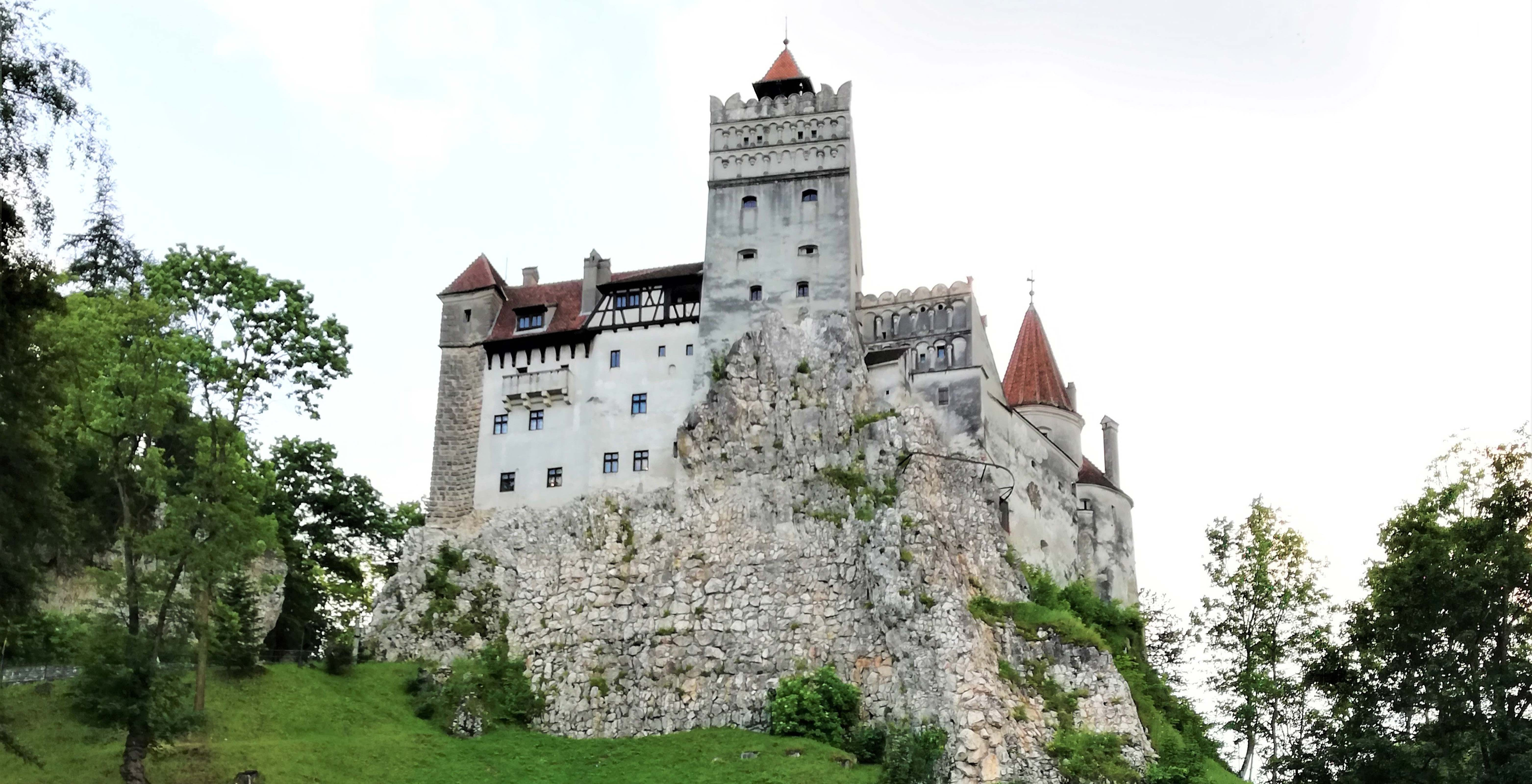 Dracula Castle Bran Romania on the Map