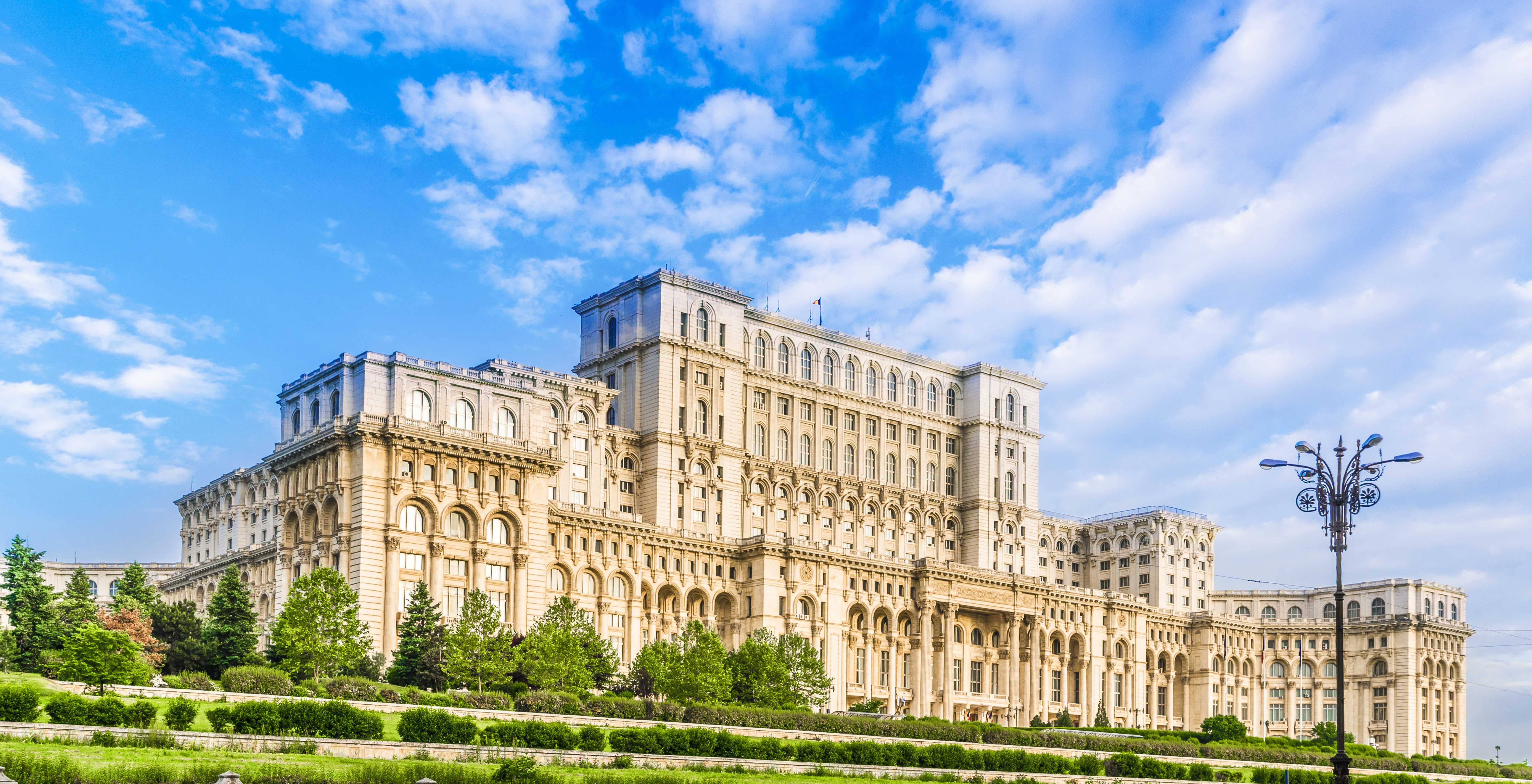 People Palace Parliament communist building Romania On The Map