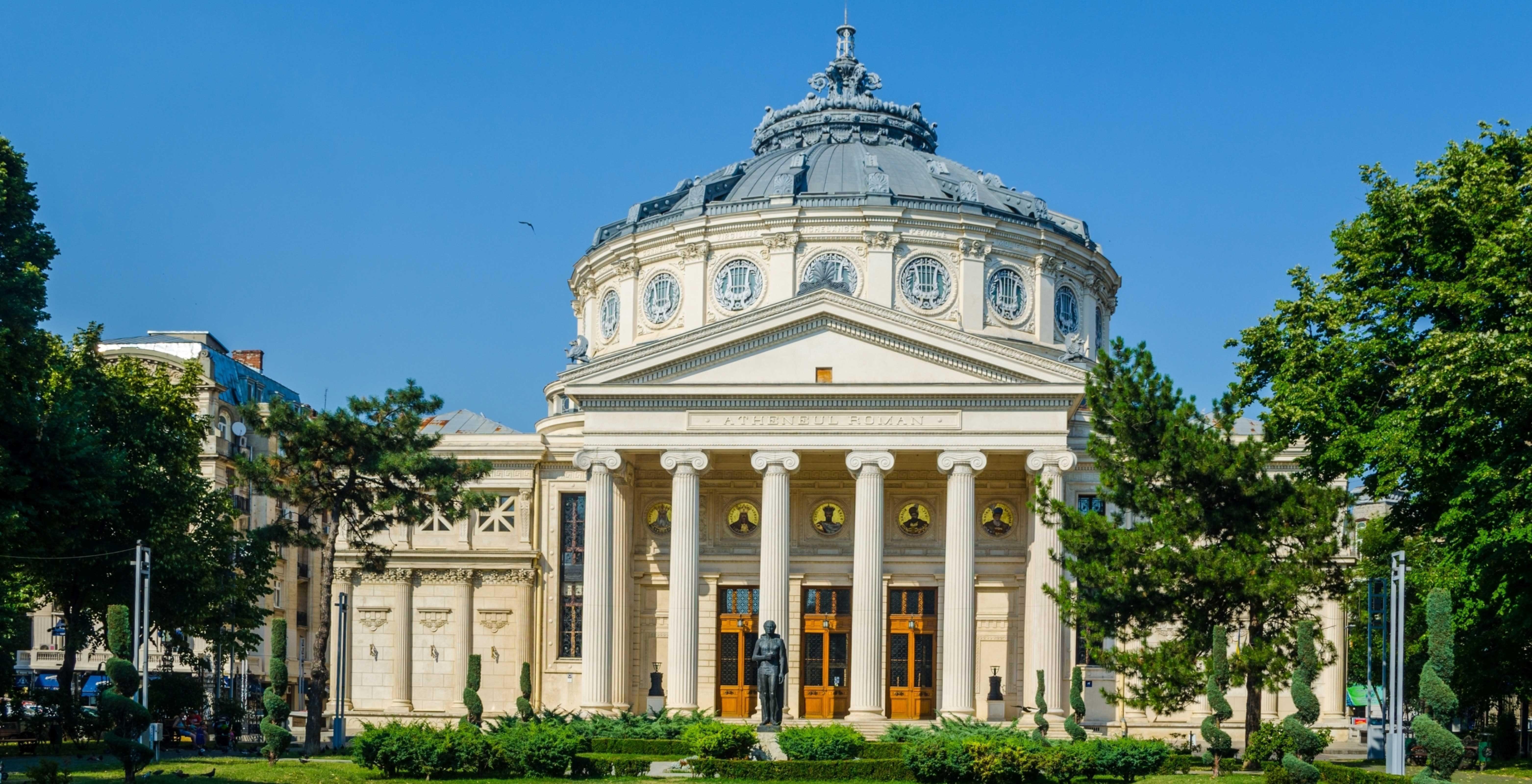 Romanian Atheneum Romania On The Map