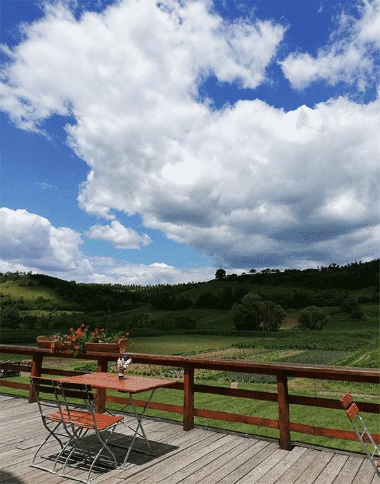 Veseud village in Transylvania, Romania on the map