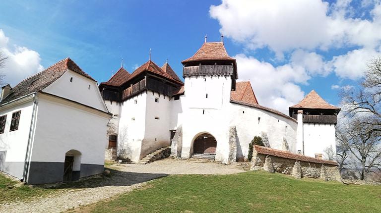 Viscri fortified church, Transylvania