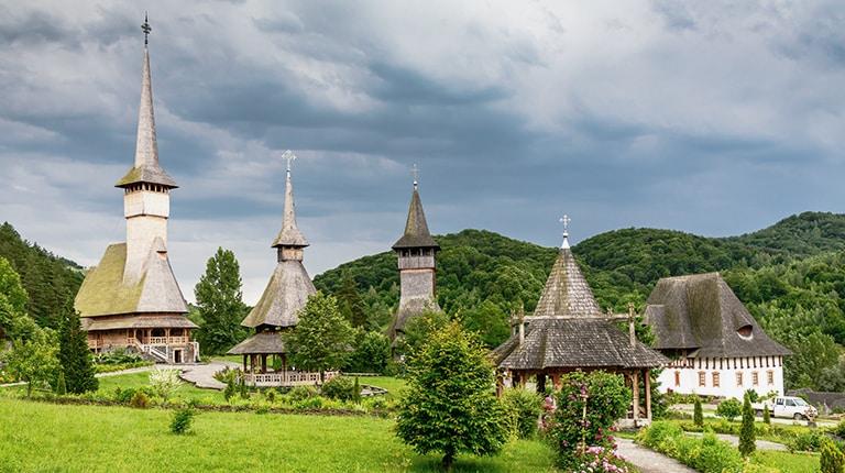 Barsana wood Monastery