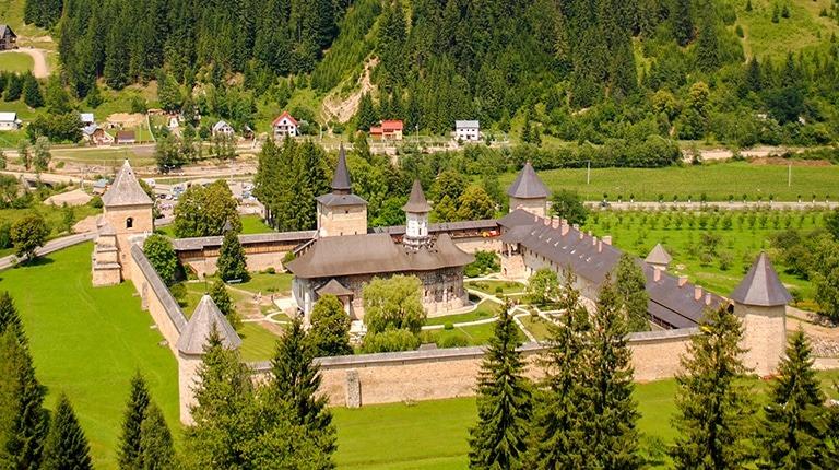 Sucevita monastic settlement