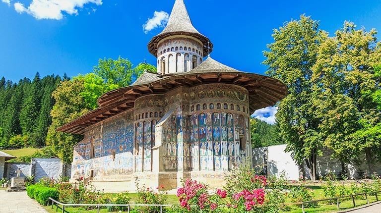 Voronet Painted Monasteries of Bucovina
